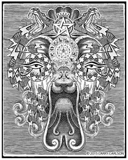 LARRY CARLSON, Astronomica 80, 2015.