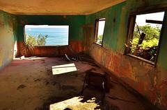 2The room where a sea is seen2 (elphoto_eltopo) Tags: ruins