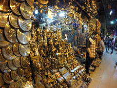 Need some souvenirs? They have it here at Khan El Khalili (The Grand bazar).