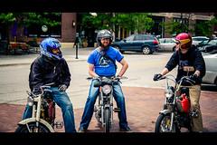 Buddies (rg69olds) Tags: canon nebraska buddies bikes motorcycle omaha trio moped oldmarket 6d canondigitalcamera canonef24105mmf4lisusm canoneos6d 05302015
