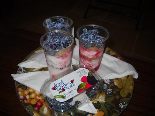 Tamim Blueberry Ice Cream Desert a May 5, 2014