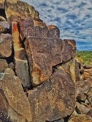 The Signal Hill Petroglyphs (willklein1@ymail.com) Tags: morning arizona native hill americans signal petroglyphs