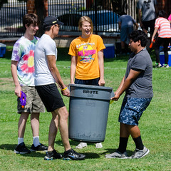 Moving Water (Kevin MG) Tags: ca school girls boy usa kids youth fun losangeles funny young teen northridge waterballoons waterfight