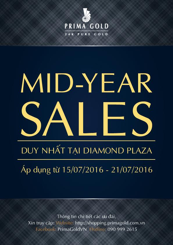 Ưu đãi giữa năm tại TTTM Diamond Plaza