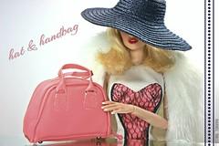 A-Z Challenge: H - hat & handbag (MARVEL_DOLLS) Tags: fashionroyalty fr integrity jasonwu reroot navyhat pinkpurse tropicalia blondebombshell queen diva vixen