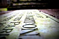 Mr Dighton (gruntkitty) Tags: grave graveyard church churchyard monmouth monmouthsire ribbet