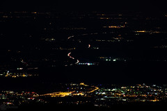 Lights in the distance 4 (zeriphon_the_real) Tags: atnight night dark photo photography dslrphoto dslrphotography nikon nikond7100 zeriphon lights citiesatnight citiesoflight mountainview
