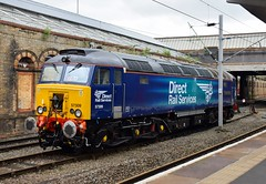 57309 (Lucas31 Transport Photography) Tags: trains railway crewe class57 57309 drs