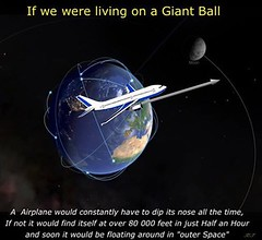 If We Were Living On A Giant Ball (ipressthis) Tags: sun moon plane ball giant truth flat god earth space yang dome reality bible curve yinyang yin outerspace universe dip hoax curvature flatearth nocurve