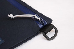 Flat Pouch Blue 04 (Imagery Bags) Tags: zipper ykk waterresistant flatpouch drypouch