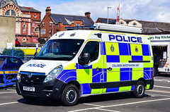 KP13ZPZ (firepicx) Tags: uk blue england lights durham cleveland police british emergency sou collision 999 investigation kp13zpz cdsou
