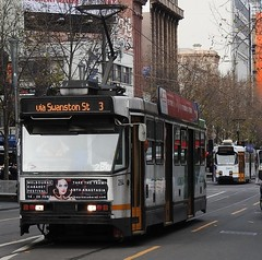 A284 (damos photos) Tags: ptv swanstonst aclass melbournetrams 2016 route3 yarratrams a284