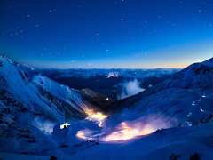 The Remarkables Ski Fields Just Before Sunrise (Stuck in Customs) Tags: stuckincustomscom treyratcliff treyratcliffcom newzealand queenstown ratcliff trey southisland dailyphoto horizontal colour color day inverted mountain hdr hdrphoto rr grass water sky snow blue white green black rock sony 2016 p2016 reflection pond remarkables skifield outside outdoor outdoors hill landscape mountainside view range southernalps ilce7rm2 june piste sport selfie