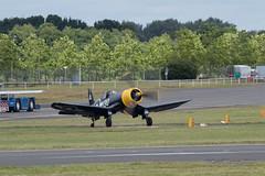 Vought F4U Corsair-2 (Clubber_Lang) Tags: airshow corsair farnborough f4u vought fia2016