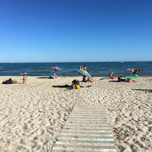 #plage #beach #Méditerranée #France #Montpellier