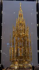 Monstrancja (jacekbia) Tags: hiszpania españa spain toledo lamancha kastylialamancha katedra kościół church indoor religia religion złoto canon 1100d panorama hugin
