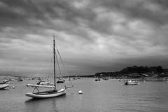Bassin (scubattitude) Tags: arcachon boat sea cloud mer bateau nuages voile
