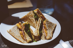 Club Houe Sandwich (Daniel Y. Go) Tags: fuji fujixpro2 xpro2 philippines coop clubhouse sandwich food