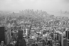 As a remedy to life in society I would suggest the big city. (Albert Camus). (dorablancoheras) Tags: bw city newyork canonphoto buildings edificios lost perdido misterio holidays vacaciones mystery usa loneliness soledad huge enorme landscape