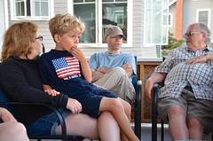 On The Cottage Porch (Joe Shlabotnik) Tags: verne higginsbeach sue rich maine july2016 everett 2016 afsdxvrzoomnikkor18105mmf3556ged