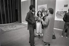 """33me Salon de la Jeune Peinture"" Exhibition, Grand Palais, Paris, 1982 (SALTOnline) Tags: saltaratrma saltresearch saltonline 33mesalondelajeunepeinture grandpalais paris 1982 mustafaaltnta"