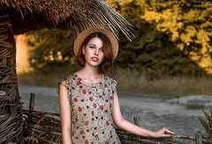 Margaret (dantar90) Tags: model girl portrait eyes hair sunset summer art color nikon d610 50mm dantar90 begmad
