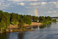 IMGP7627 (JFofonoff) Tags: kes ranta beach sateenkaari rainbow