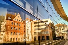 Neues Museum (Steffi-Helene) Tags: spiegelung museum muse nuremberg germany bayern franken architecture mirror fassade facade