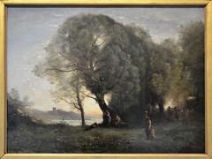 """Lens (Pas-de-Calais) - Muse du Louvre-Lens - """"Danses virgiliennes"""" (Jean-Baptiste Camille Corot, vers 1855-1860) (Morio60) Tags: lens louvrelens pasdecalais 62 muse corot"""