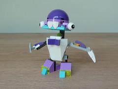 LEGO MIXELS TUTH SNAX MIX or MURP? Instructions Lego 41571 Lego 41551 (Totobricks) Tags: lego mixels tuth snax mix murp instructions legomixels series8 series6 medix munchos lego41571 lego41551 41571 41551 howto build make totobricks