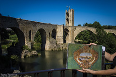 Puente de Besal (Remei Montagut) Tags: puente besal