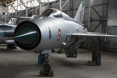 Mikoyan-Gurevich MiG-21FL - 3 (NickJ 1972) Tags: indian air force museum palam af delhi india mikoyan gurevich mig21 fishbed c499