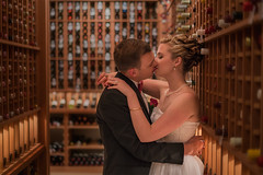 'Sneaking a Kiss' - Calgary Petroleum Club (Gavin Hardcastle - Fototripper) Tags: wedding photography calgary petroleum club romance sony a7r2 zeiss fe 55mm no flash gavinhardcastle fototripper