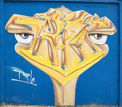 Bip (davidfigueira) Tags: bird grafitty urban art lisbon portugal