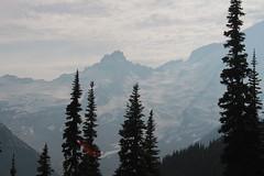 Snowy ridge (rozoneill) Tags: mount ranier national park burroughs mountain trail emmons glacier white river washington hiking wonderland sunrise frozen lake