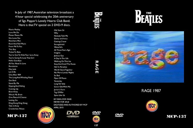 MCP-137 The Beatles Rage 1987