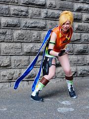 Cosplay - Mang'Azur 2015 - P1060572 (styeb) Tags: cosplay 26 manga final fantasy convention palais xml neptune avril azur rikku mang retouche toulon 2015 mangazur