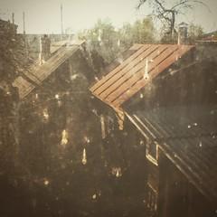 garden #bath #loft_window #view_through_glass... (danyaandxenia) Tags: garden bath loftwindow viewthroughglass uploaded:by=flickstagram instagram:photo=9826805018683765131799171099