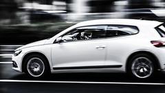 20150601_01_Volkswagen Scirocco (foxfoto_archives) Tags: ex car japan photoshop canon volkswagen eos tokyo mark f14 shibuya 85mm sigma snap adobe ii  5d    57 dg lightroom scirocco     hsm   5d2