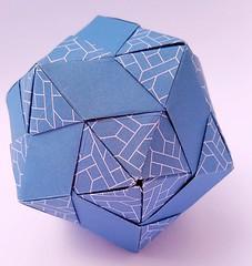 Icosahedron (modular.dodecahedron) Tags: icosahedron modularorigami tomokofuse