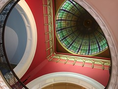 Circles and Squares (Kayleigh 13) Tags: australia nsw newsouthwales qvb queenvictoriabuilding syndey shotoniphone6s