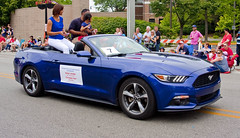 Karen Jordan and Christian Farr Skokie Illinois 4th of July Parade 2016 3496 (www.cemillerphotography.com) Tags: holiday kids illinois families celebration route politicians celebrities independence 4thofjuly clowns classiccars floats acts