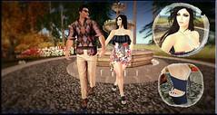 #13 - So Lets Go (Lucianna Emerald) Tags: tbo shine awear bellaelephante designercircle exile fetchingposes larosa mm maitreya