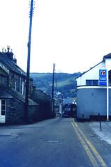 Slide 066-73 (Steve Guess) Tags: bluecream bus mousehole newlyn cornwall penzance england gb uk krl444w harvey bristol lh lhs wadham stringer vanguard