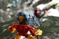 The Chronicler's Company (Thibaut_Piruk) Tags: takua velika lego moc bionicle matoran diorama