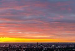 Adelaide Skyline (Nathan Godwin) Tags: city sunset cloud skyline sunsets adelaide southaustralia cloudscape cloudporn sunsetporn sunsetphotography adelaidephotographer