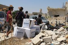 Ramadhan Relief in Idlib, Syria (Ummah Welfare Trust) Tags: charity food war islam aid hunger syria ramadan ramadhan humanitarian aleppo humanitarianism ummah idlib