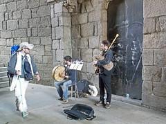 Traditional Gaita Welcome to Santiago de Compostela. (Dartmoor Mike) Tags: gaita bagpipes santiago de compostela camino