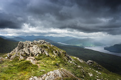Storm over Loch Katrine (Neillwphoto) Tags: storm mountains rock clouds scotland hills trossachs hillwalking benvenue lochkatrine