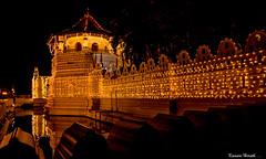 The Temple of the Tooth, Sri Lanka (kumherath) Tags: ef24105mm f4l is usm kandy sri lanka world heritage canon5dmark111 temple tooth lights night handheld